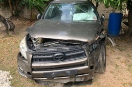 CRASHED 2012 RAV4