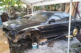 Toyota Levin AE92 scrapping