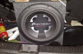 Pioneer bass double coil