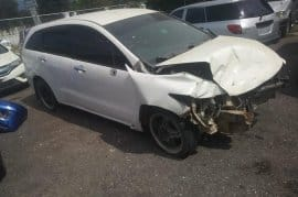 Damage 2008 Honda stream