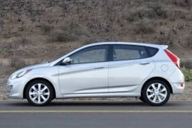 2013 HYUNDAI ACCENT @ GEORGE ALLEN CAR DEALERSHIP