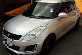 2014 Suzuki Swift (Push Button Start)