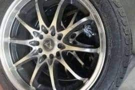 "17"" Rims with Tyres"