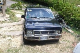 Nissan 4 Door Pick Up