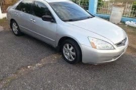 2005 honda accord LHD