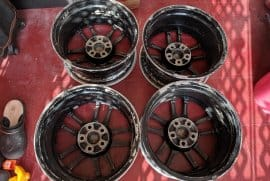 Evolution 9 - 17inch - 5x114.3 Rims For Sale