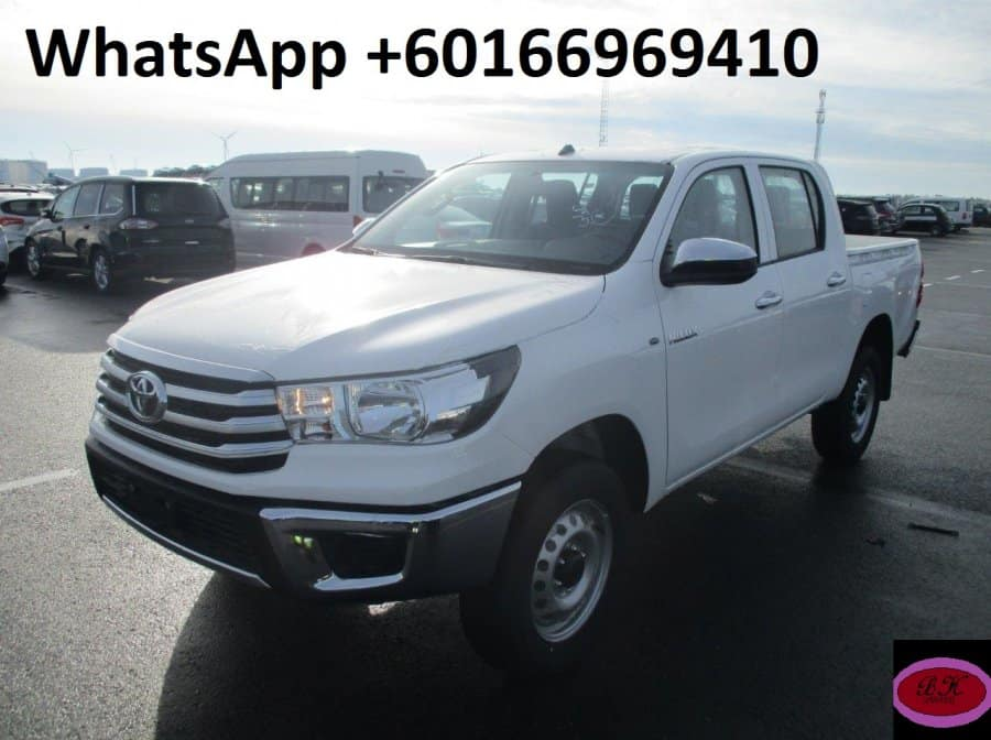 Slightly Used 2019 TOYOTA HILUX For Sale In Black River ...
