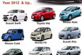 Newly Import Vehicles