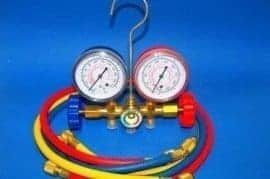 A/C manifold servicing kit