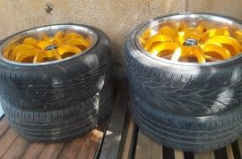 """18"""" rim's and tire"""