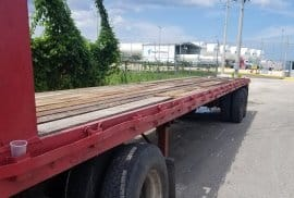 Flatbed trailers for sale cheap!