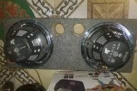 "2 like New Hifonics 12"" Car Subwoofer in box"
