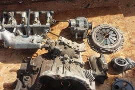 Toyota 5A engine an gearbox