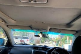 2011 Toyota Mark X with sunroof