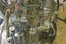 Toyota 5A Engine and and Transmission
